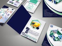 A4 Brochure PSD Mockup